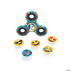 Emoji Interchangeable Fidget Spinners
