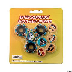 Emoji Interchangeable Fidget Spinners