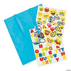 Emoji Laminated Tote Bag Craft Kit