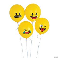Emoji Latex Balloons
