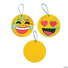 Emoji Magic Color Scratch Ornament Craft Kit