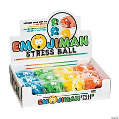 Emoji Man Stress Balls