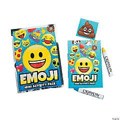 Emoji Mini Activity Packs