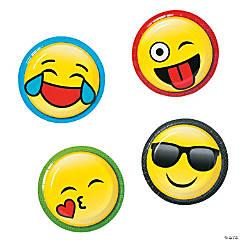 Emoji Paper Dessert Plates - 8 Ct.
