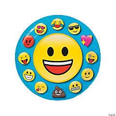 Emoji Paper Dinner Plates - 8 Ct.
