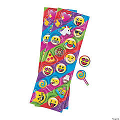 Emoji Puffy Stickers