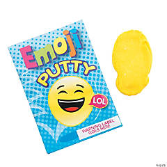 Emoji Putty Pouches