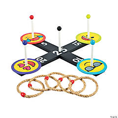 Emoji Ring Toss Game