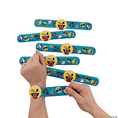 Emoji Slap Bracelet Watches