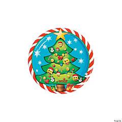 Emoji™ Christmas Dessert Plates