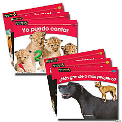 En Español: Rising Reader Math, Vol 1, Set of 12