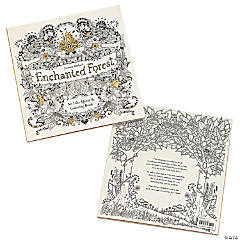 Enchanted Forest Adult Coloring Book by Johanna Basford