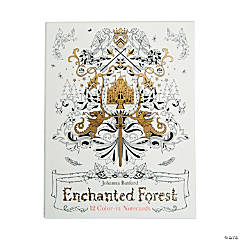 Enchanted Forest Adult Coloring Notecards by Johanna Basford