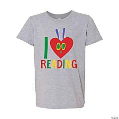 Eric Carle™ I Love Reading Youth T-Shirt - Large