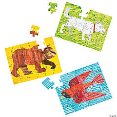 Eric Carle's Brown Bear, Brown Bear, What Do You See? Jigsaw Puzzles
