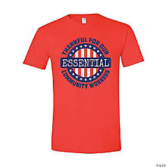 Essential Community Workers Adult's T-Shirt - Large