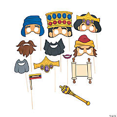 Esther Bible Story Photo Stick Props
