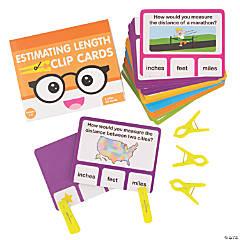 Estimating Length Clip Cards