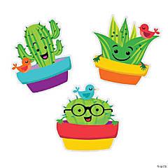 Eureka<sup>® </sup>Sharp Bunch Cactus Bulletin Board Cutouts
