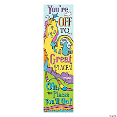 Eureka® Dr. Seuss™ Oh the Places You'll Go Vertical Banner