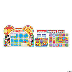 Eureka® Mickey Mouse Clubhouse® Calendar Bulletin Board Set