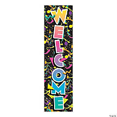 Eureka<sup>&#174; </sup>Rock the Classroom Welcome Vertical Banner