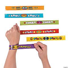 Everyday Sayings Slap Bracelets
