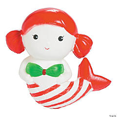 Expressions® Christmas Mermaid Scented Slow-Rise Squishy