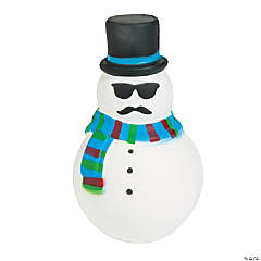 Expressions® Christmas Snowman Scented Slow-Rise Squishy