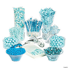 Extra Large Blue Candy Buffet Kit