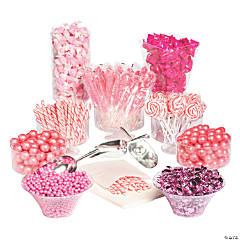 Extra Large Pink Candy Buffet Kit