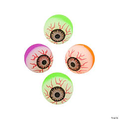 Eyeball Bouncy Balls
