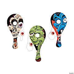 Eyeball Catch Paddleball Games Clip Strip