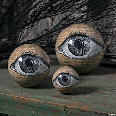 Eyeball Orbs Halloween Decorations