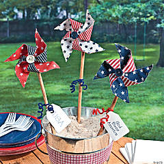 Fabric Americana Pinwheels