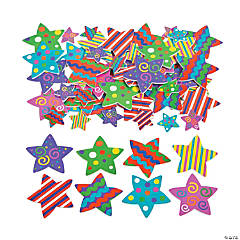 Fabulous Foam Self-Adhesive Star Shapes