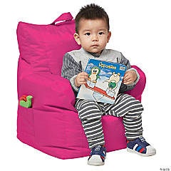Factory Direct Partners Cali Little Bear Bean Bag - Raspberry