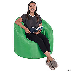 Factory Direct Partners Cali Seashell Bean Bag - Grassy Green