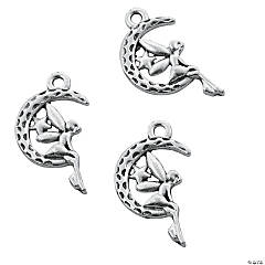 Fairy in the Moon Charms