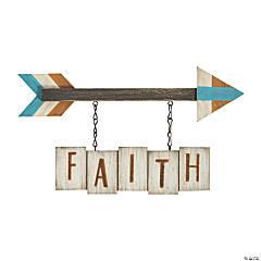 Faith Arrow Sign