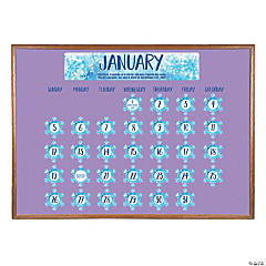 Faith Classroom Days of the Year Bulletin Board Calendar