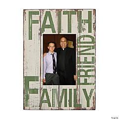 Faith Family Friends Photo Frame