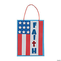 Faith Flag Sign Craft Kit