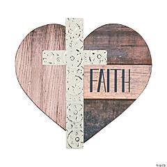Faith Heart Sign