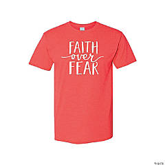 Faith Over Fear Adult's T-Shirt - 2XL