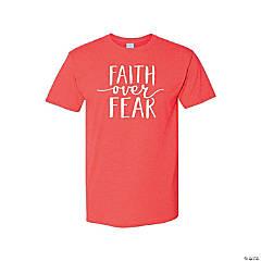 Faith Over Fear Adult's T-Shirt - Large