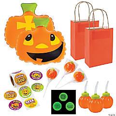 Faith Pumpkin Halloween Boo Bag Kit for 12