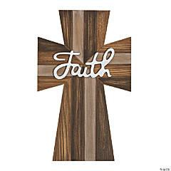 Faith Rustic Wall Cross