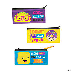 Faithtastic Food Friends Pencil Cases