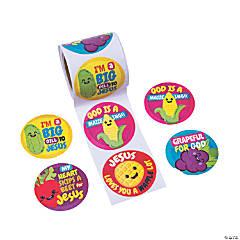 Faithtastic Food Friends Stickers